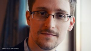 Edward Snowden Former Intelligence Officer & Whistleblower